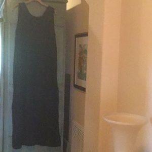 Flax Long Sleeveless Dress